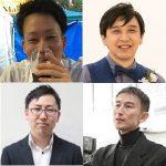中島 翼, 佐藤 真, 大松 亨介, 大井 貴史