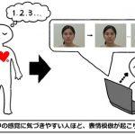 身体の中の感覚に気づきやすい人は、表情模倣が起こりやすく他人の視線にも敏感か? – 内受容感覚と社会性の関係
